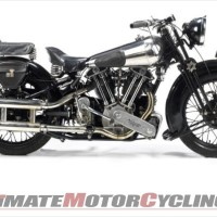 EX-George Brough SS100 Sets Bonhams Stafford Record - $426K+
