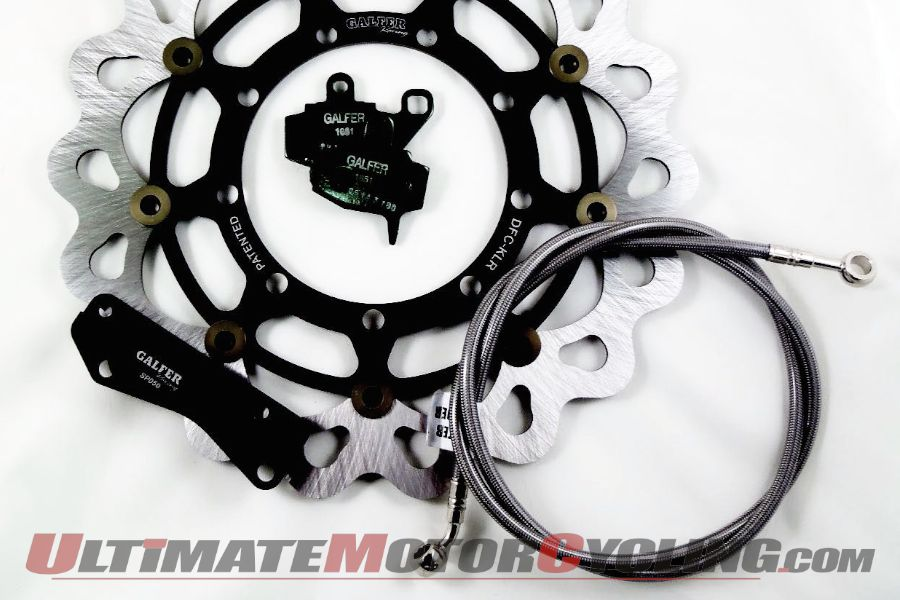 Galfer Oversize Wave Rotor Kit Review | 2008-14 Kawasaki KLR 650