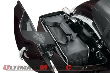 Harley Saddlebag Cooler - Ride with a Cold One Ready