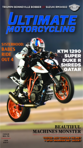 Ultimate Motorcycling magazine January 2017