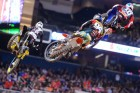 Roczen, Dungey and Stewart battle at St. Louis Supercross, 2014.