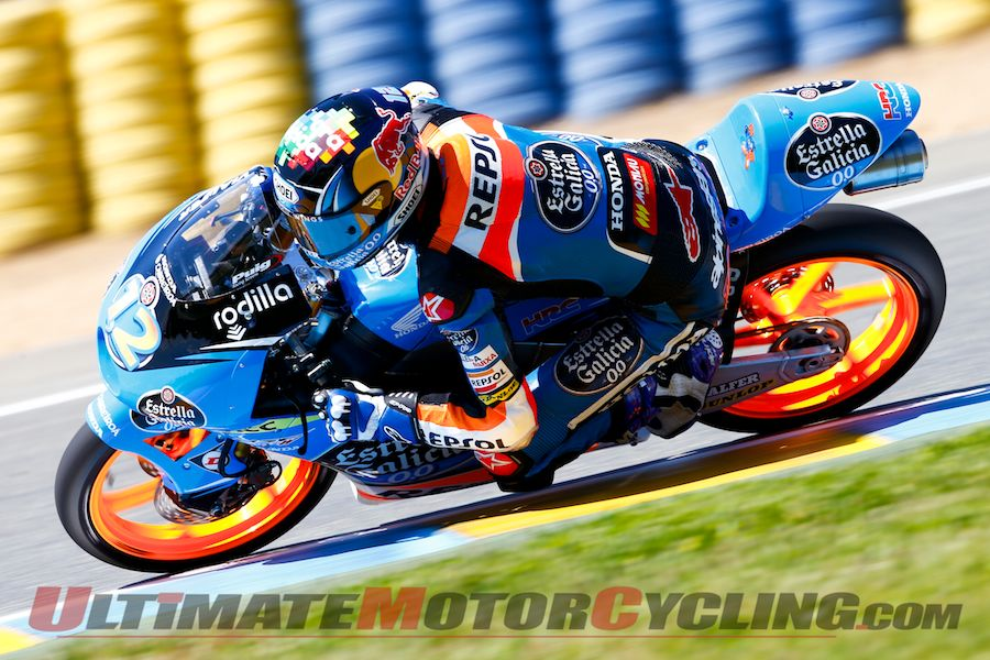 2014 Le Mans Moto3 Friday Practice: Alex Marquez Sets Pace