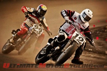 Harley's Baker Fifth at Springfield Mile AMA Flat Track