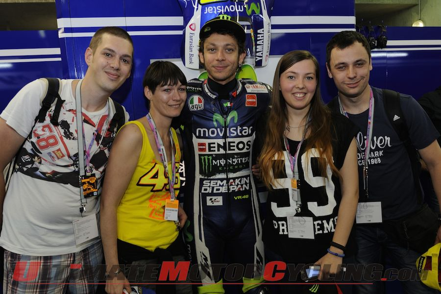 Bridgestone Club46 - 1st Contest Winners Meet Valentino Rossi