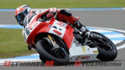 Team Hero EBR | Best Finish of 2014 Superbike at Donington