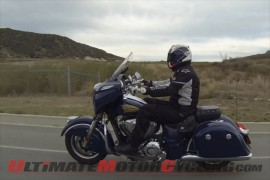 Greg's Garage - Riding the 2014 Indian Chieftain Bagger (Video)
