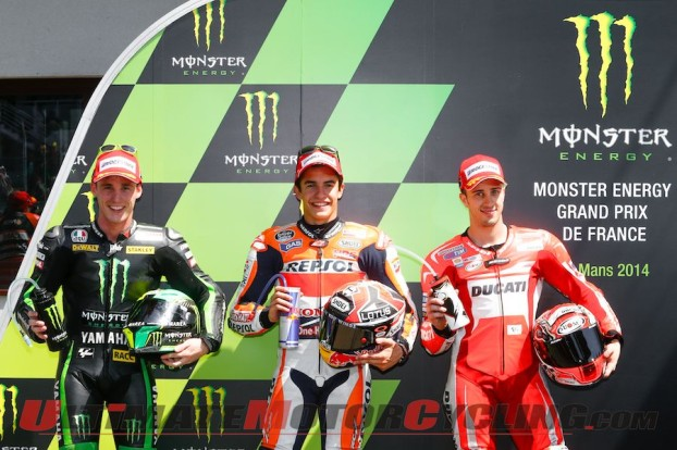 2014 Le Mans MotoGP Qualifying Results | Marquez 5 for 5
