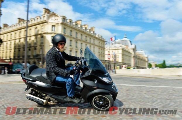 2014 Piaggio MP3 500 Review | Quirky Match for Quirky People