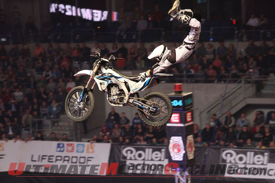2014 FIM Freestyle Motocross | Bizouard Secures European Title