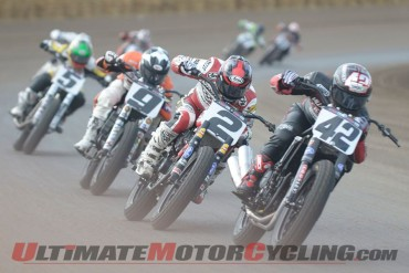 2014 Springfield Mile I AMA Flat Track Results | Smith's Last-Second Win