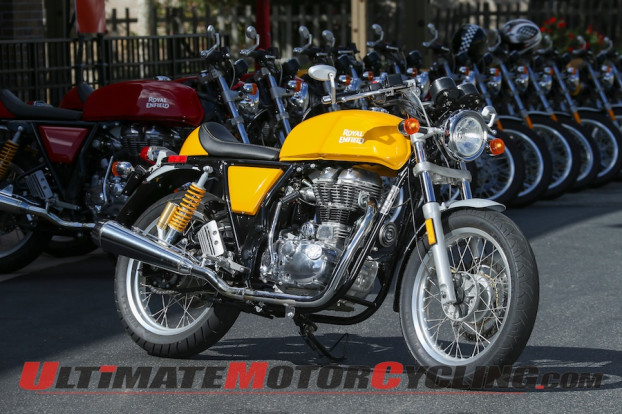 -2014 Royal Enfield GT Continental Cafe Racer – First Ride Review