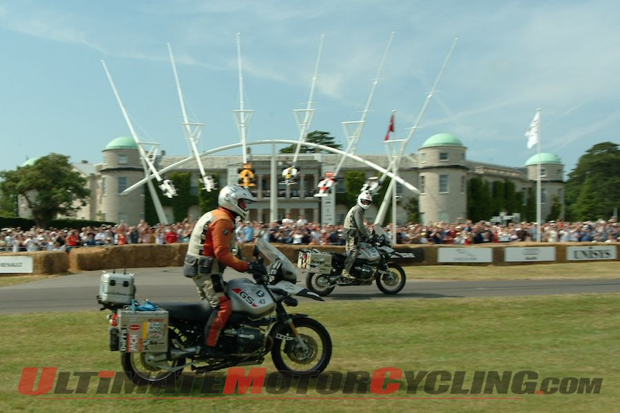 Boorman to Tackle Goodwood Hillclimb on BMW R 1150 GS
