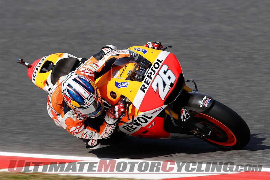 Catalunya MotoGP Qualifying Results | Pedrosa on Pole; Marquez Crash