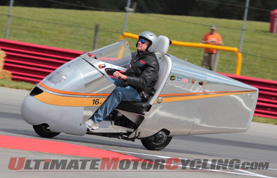 Craig Vetter Fuel Economy Challenge Returns to Vintage Motorcycle Days