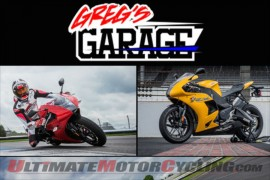 Greg's Garage | White Rides the EBR 1190RX at Indy (Video)