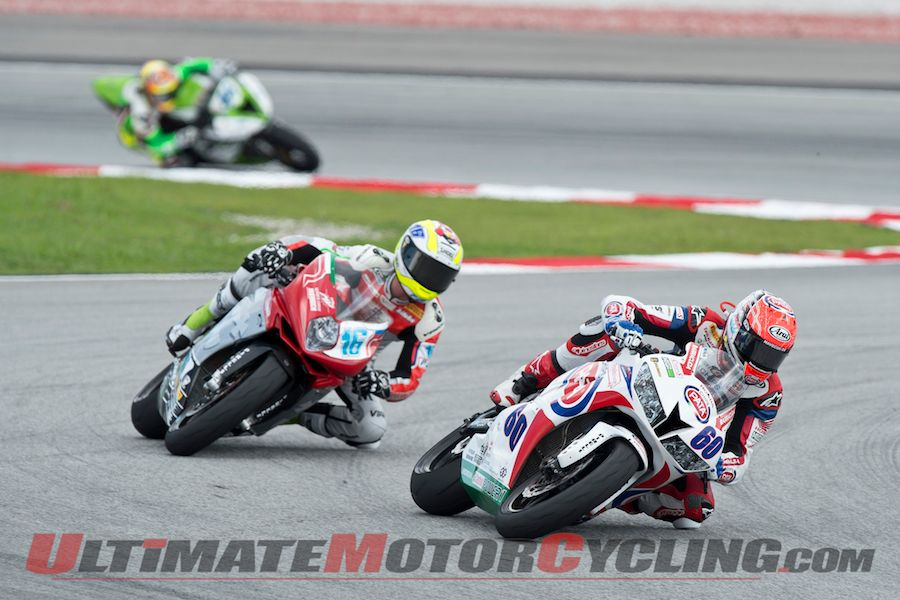 2014 Sepang Supersport Results | Van der Mark Extends Lead