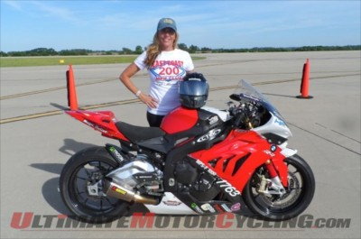 Valerie Thompson Joins ECTA 200 MPH Club with 208.71 Aboard S1000RR