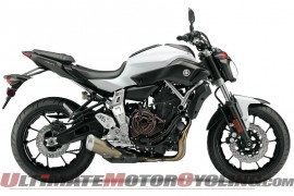 2015 Yamaha FZ-07 | First Look at the Naked Coming Stateside