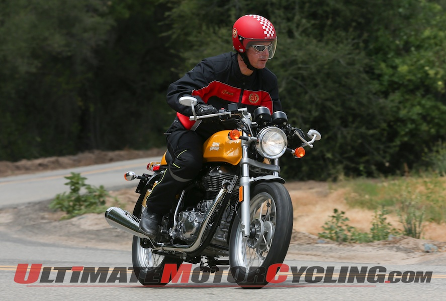 2014 Royal Enfield Continental GT Café Racer – First Ride Review