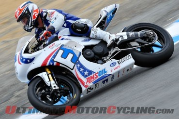 Erik Buell Racing Earns 1st SBK Points at Laguna Seca