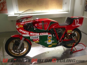 Hailwood IOM TT 900 SS (1978) from the Ducati Museo