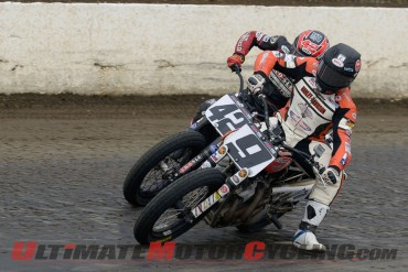 2014 Grays Harbor AMA Pro Flat Track Results | Harley's Mees Wins