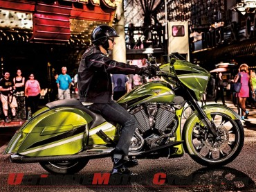 Victory Magnum Delivers Production Bagger Bling | Specs & Photos