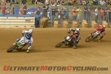 AMA Pro Flat Track Title Hunt Heats Up Following Wiles Peoria TT Win