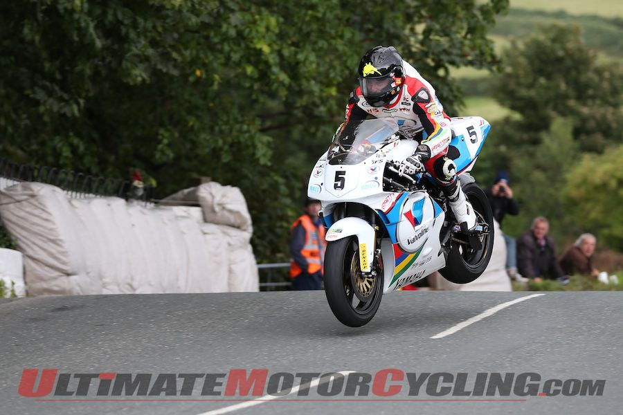 Yamaha's Anstey Quickest So Far in Isle of Man Classic TT Qualifying