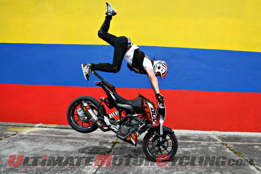 KTM Stunt Rider Rok Bagoros Tricks Colombia | Video Highlights