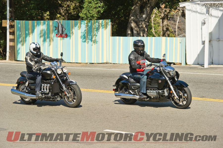 Honda Valkyrie Vs. Triumph Rocket III Roadster | Review