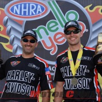 Harley's Hines & Krawiec Take Double Wins at NHRA Texas Nationals