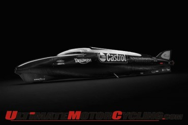 Triumph Castrol Rocket' 400mph Bonneville Assault Postponed