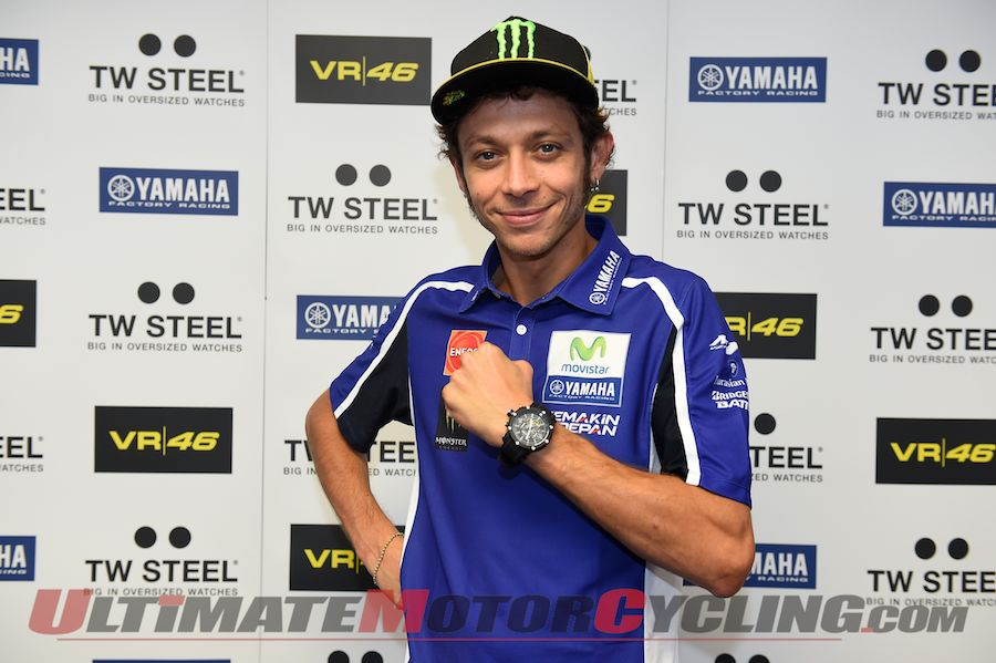 Valentino Rossi Watch Collection Unveiled (TW Steel)