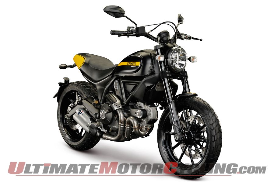 2015 Ducati Scrambler First Look | Four Versions Available