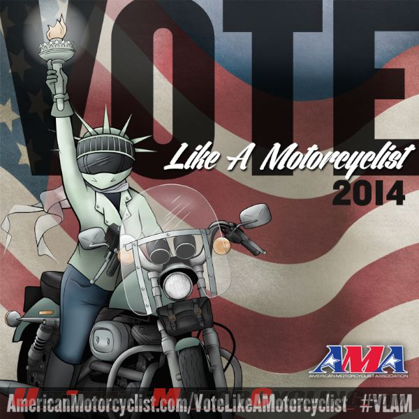 AMA: On Election Day, Vote Like A Motorcyclist
