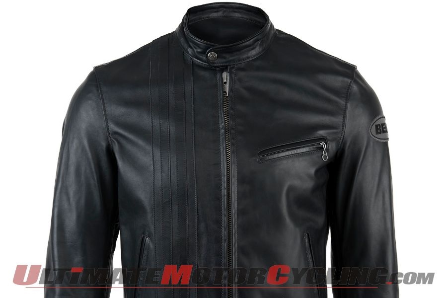 Bell X Schott NYC Cafe Racer Leather Jacket Unveiled