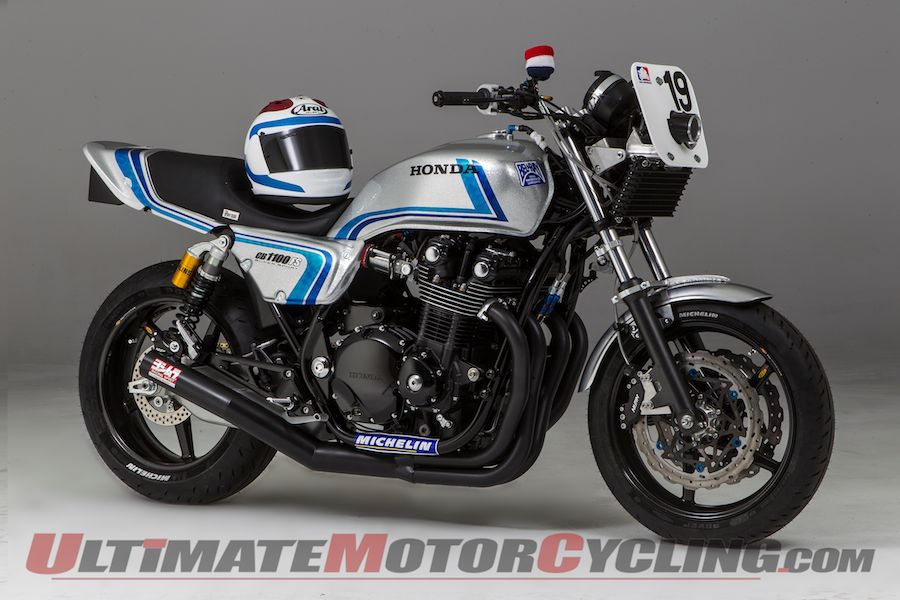 Freddie Spencer Tribute CB1100 to Benefit Ride for Kids