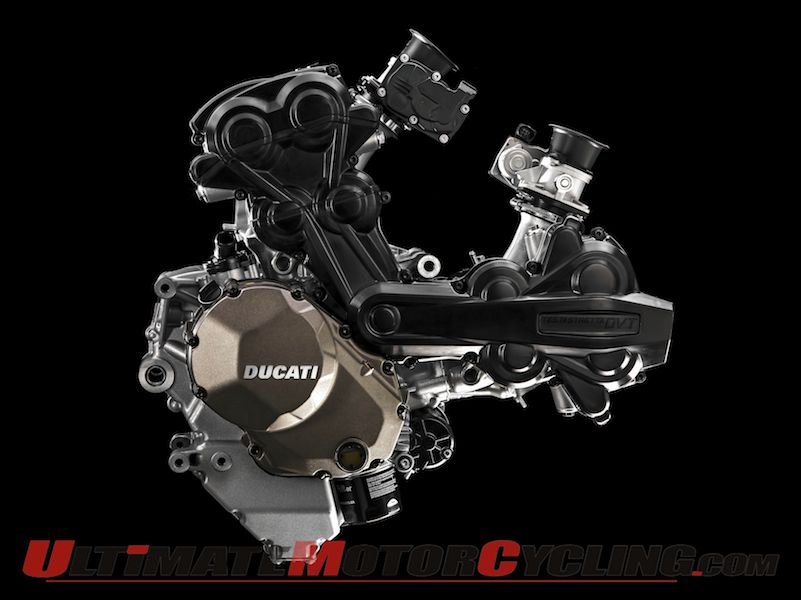 Ducati DVT Engine Introduces Desmodromic Variable Timing