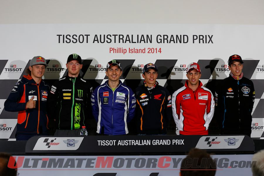 Marquez Highlights 2014 Phillip Island MotoGP Press Conference