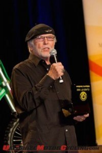 Willie G. Davidson Honoree at AMA Motorcycle Hall of Fame Legend