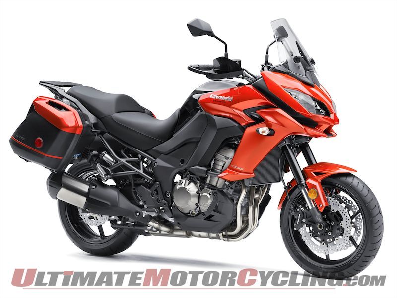 2015 Kawasaki Versys 1000 LT | First Look