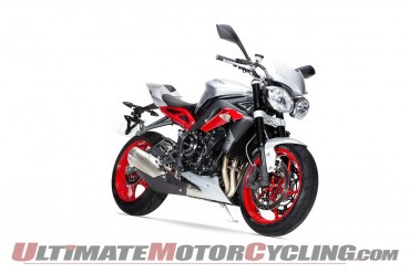 2015 Triumph Street Triple RX Special Edition | First Look