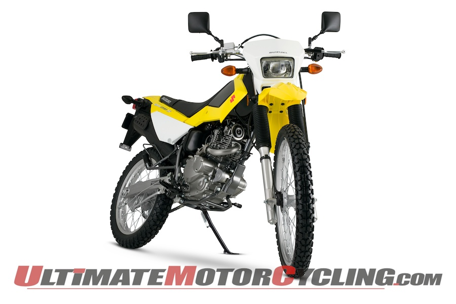 2015 Suzuki Dual Sport Lineup First Look | DR200S Updated