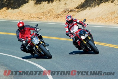 Ducati Monster 1200 S Follows BMW S 1000 R