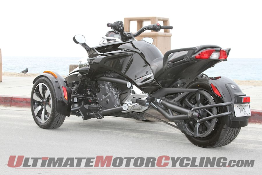 can am spyder f3 s review three wheeled love rh ultimatemotorcycling com 2013 Can-Am Spyder RSS Are Can-Am Spyder Automatic