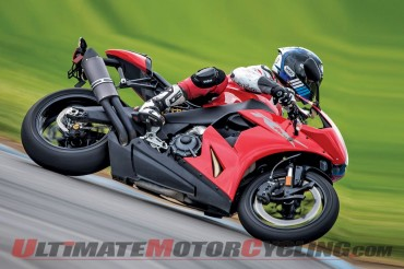 EBR 1190 RX on the Track