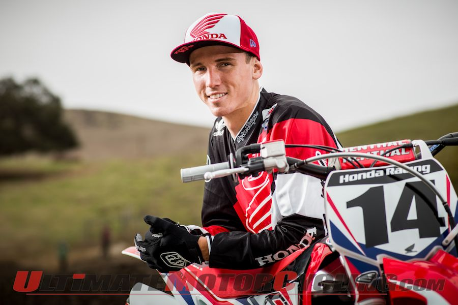 Cole Seely, Team Honda's newest rider
