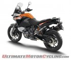2015 KTM 1090 Adventure from the leftside top view