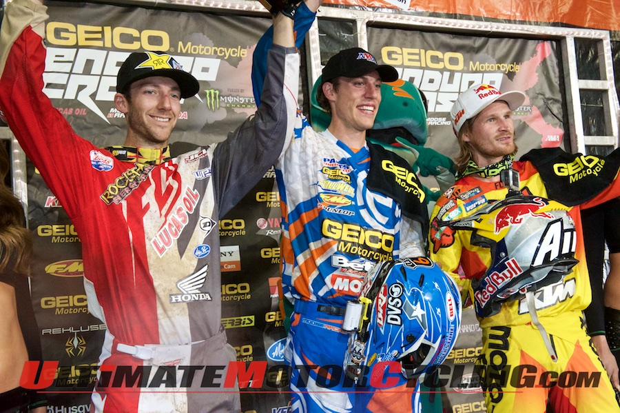 2014 Ontario Endurocross Podium